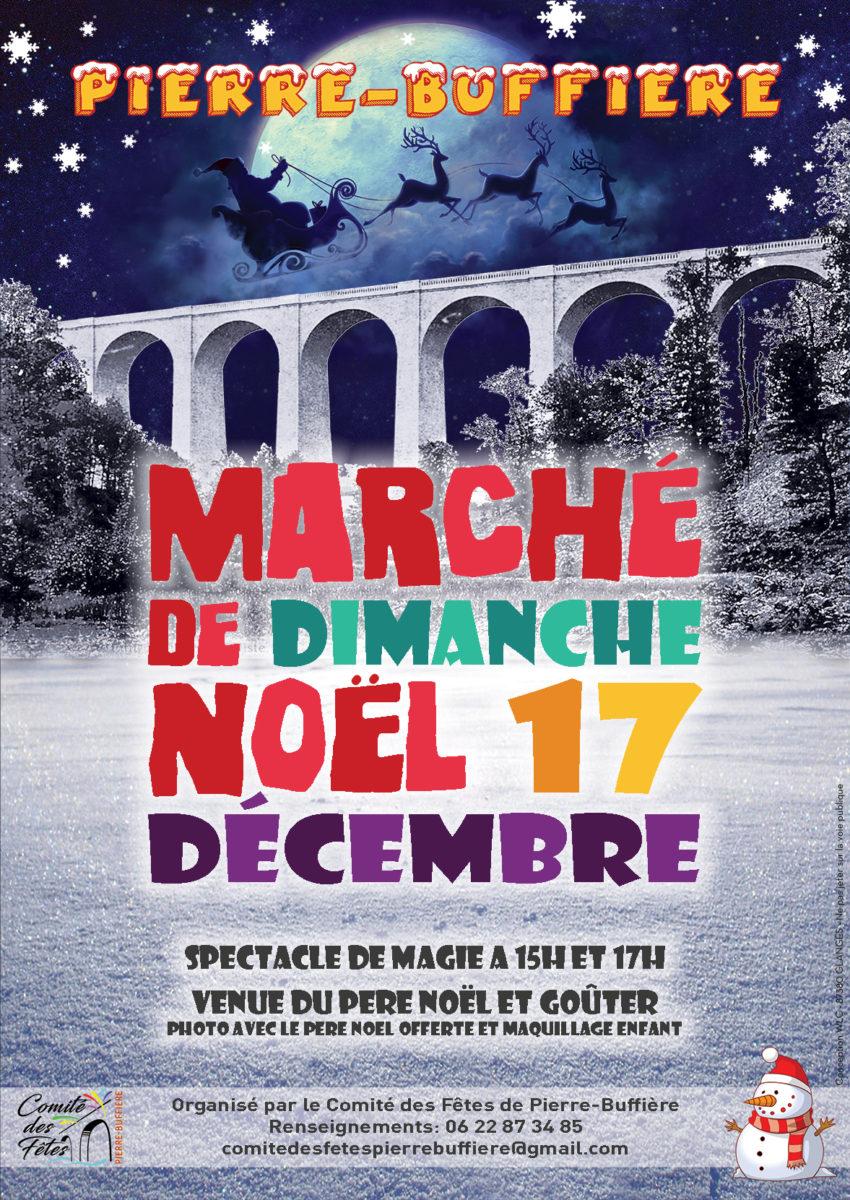 Affiche Marche de Noel