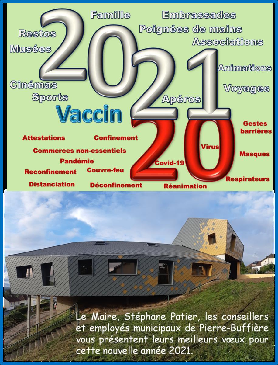 Voeux Mairie 2021